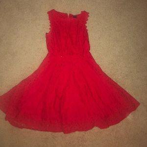 Red Dress Mini Dress